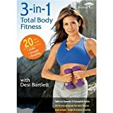 3-in-1 Total Body Fitness : Cardio Low Impact , Strength Sculpt and Tone Legs Arms Abs , Flexibility Yoga and Stretching