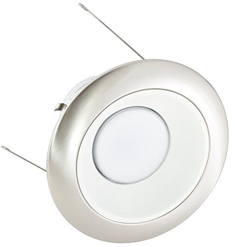 American Lighting X5-Whm-Al-X56 5-Inch Downlight Trim Kit For X56 Series, White Multiplier, Satin Aluminum Trim