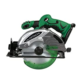 Bare-Tool Hitachi C18DLP4 18-Volt Lithium Ion 6-1/2-Inch Circular Saw (Tool Only, no Battery)