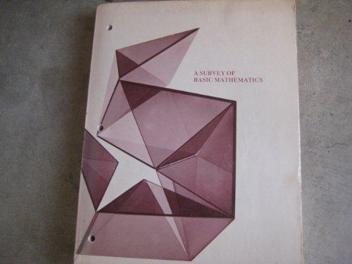 A Survey of Basic Mathematics PDF