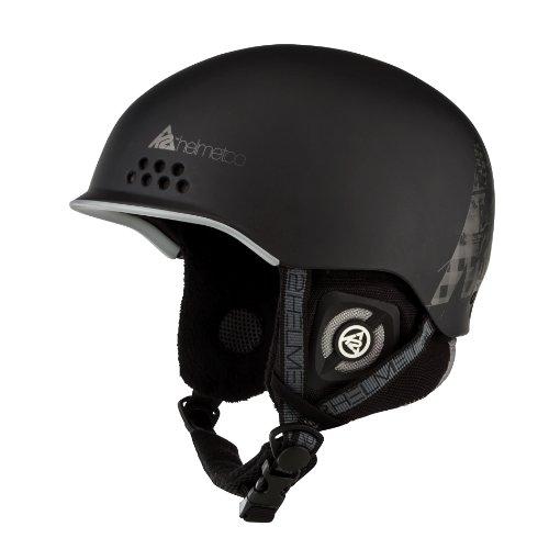 K2 Herren Skihelm Rival, Black, S, 1003100.1.1.S