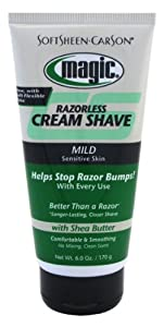 Magic Shave Cream Shave, Mild - 6 oz