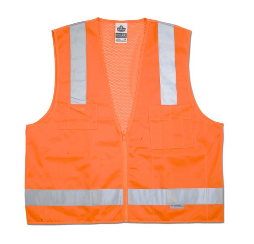 Class 2 Surveyor Vest Orange - Buy Class 2 Surveyor Vest Orange - Purchase Class 2 Surveyor Vest Orange (Ergodyne, Ergodyne Vests, Ergodyne Mens Vests, Apparel, Departments, Men, Outerwear, Mens Outerwear, Vests, Mens Vests)