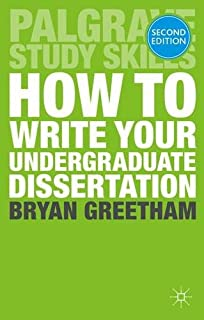 Writing a dissertation — University of Leicester