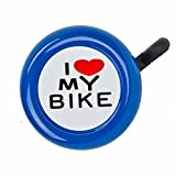 Sunlite I Love My Bike Bell, Blue