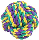 Multi Pet Nuts For Knots Large Cotton Rope Ball Dog Toy