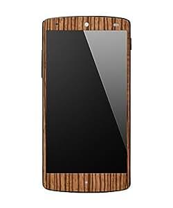 dbrand Zebra Wood Front Mobile Skin for LG Google Nexus 5