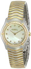 "EBEL Women's 1215271 ""Wave"" 18k Gold…"