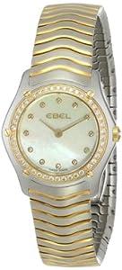 EBEL Women's 1215271 Wave Analog Display Swiss Quartz Two Tone Watch