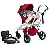 Orbit Baby Stroller Travel System G2, Ruby (Discontinued by Manufacturer)