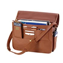 Soft-Sided Briefcase (Tan) (11.5