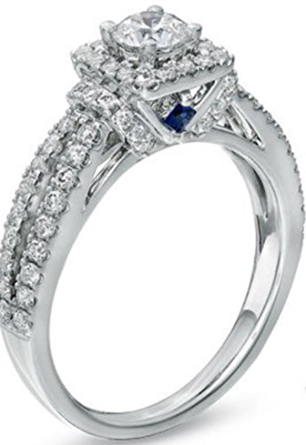 Vera Wang Love Collection Engagement Ring