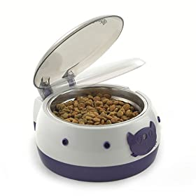 Electric Dog Food Bowl