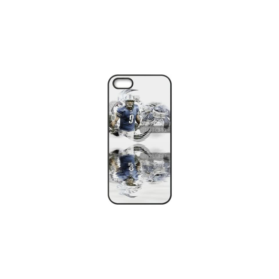 NFL Detroit Lions Team Logo High Quality Inspired Design TPU Protective cover For Iphone 5 5s iphone5 NY491