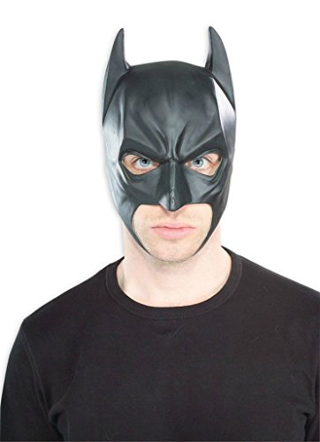 Batman Vinyl Superheroes Party Latex Adult Halloween Costume Mask