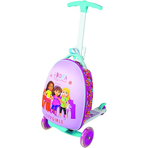Nickelodeon Kid's Dora and Friends 'City Girls' Upright Scooter Suitcase (Upright Scooter compare prices)