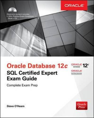 OCA Oracle Database SQL Certified Associate Exam Guide (Exam 1Z0-071) (Oracle Press)