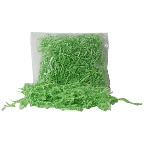 JAM Paper® Shred Tissue Paper (krinkeleen) - Lime Green - 2 ounce bags