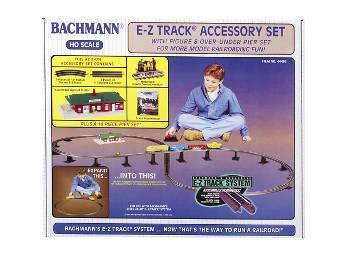 Bachmann Trains Snap-Fit E-Z Track Track Accessory Set