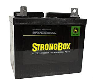 John Deere Original Equipment Battery, Dry Charged #TY25878