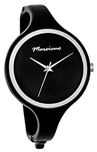 Marciano Women's | Sleek Black Bangle Watch With Large Face | FH0040