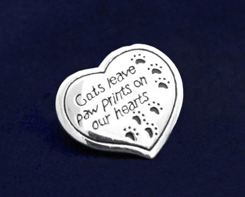 Cats Leave Paw Prints Pin (27 Pins)