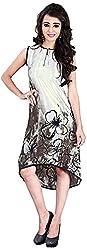vogue4all Women's Georgette Tunic Dress (TP1012__38, 38)