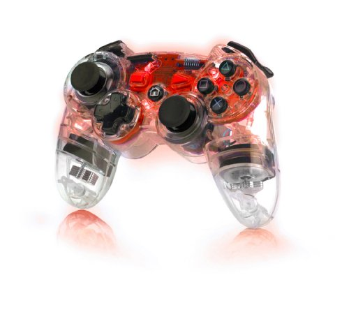 Pdp Ps3 Afterglow Wireless Controller - Red