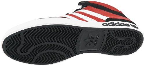 adidasAdidas Top Court Big Adi Das Black White Light Scarlet Basketball Shoes Men's 8.5