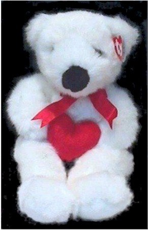 Ty Classic Plush - Romeo the Bear with a Red Heart