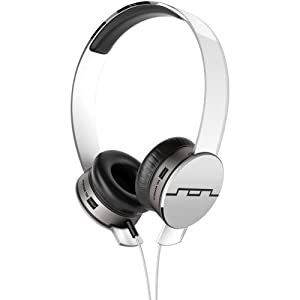 SOL REPUBLIC 1241-02 Tracks HD On-Ear Interchangeable Headphones with 3-Button Mic and Music Control - White