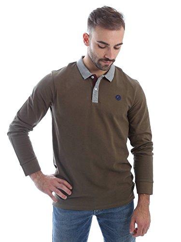 Gaudi jeans 62BU64025 Polo Uomo Verde Xl