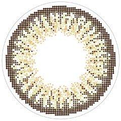 loveil( ラヴェール )【 シアーヘーゼル 】 カラコン 1day 1箱30枚入 14.2mm 【 度あり 】 【PWR】-3.75