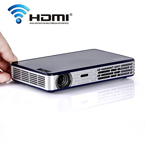 Coolux x3s led pico mini dlp 3d projector beamer portable for Mini portable pocket projector