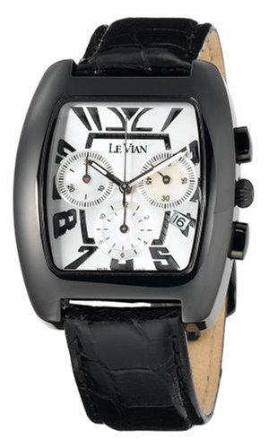 le vian men s zag 56 phantom black watches