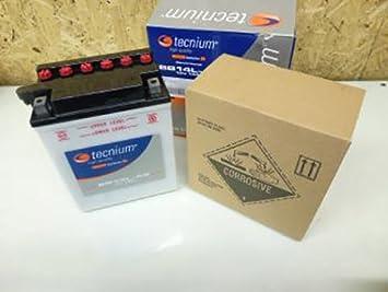 Batterie Tecnium moto Aprilia 650 Pegaso 2001 2002 2003 2004 YB14L-A2 Neuf