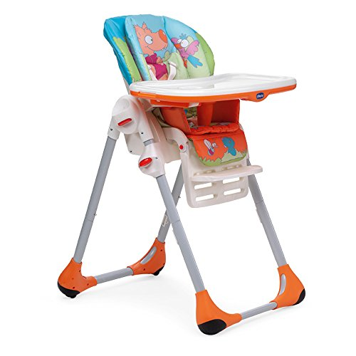 Chicco New Polly 2 in 1 Highchair Wood Friends