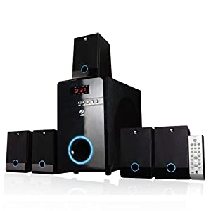MA Audio MA5817 800 Watt Home 5.1 Powered Sub & Multi Speaker System