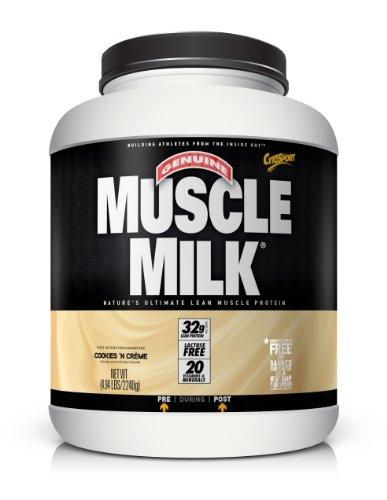 Cytosport Muscle Milk, Cookies & Cream, 4.94-Pound Jar