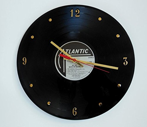 ACDC-Vinyl-Record-Clock-Back-In-Black-Handmade-12-wall-clock-created-using-the-original-ACDC-record