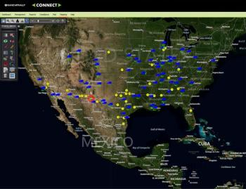Mapping and Vehicle Tracking via the Rand McNally Connect web portal