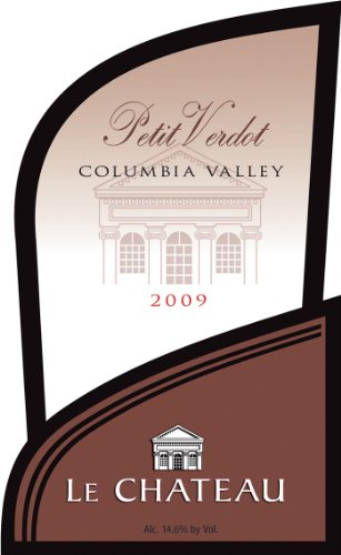 2009 Le Chateau Petit Verdot Washington Wine 750 Ml