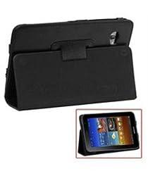 iAccy SGTF003 Soft Ruberrised Portfolio Case for Samsung Galaxy Tab P620 (Black)
