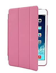 inShang iPad mini 4 Smart Cover + back case for Apple iPad mini4 (2015 Ver.) Auto sleep /Wake with Stand function, smart cover case