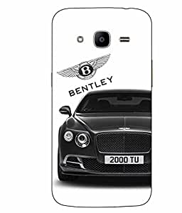 Make My Print Car Printed White Hard Back Cover For Samsung Galaxy J2 2016 Edition / J2 Pro