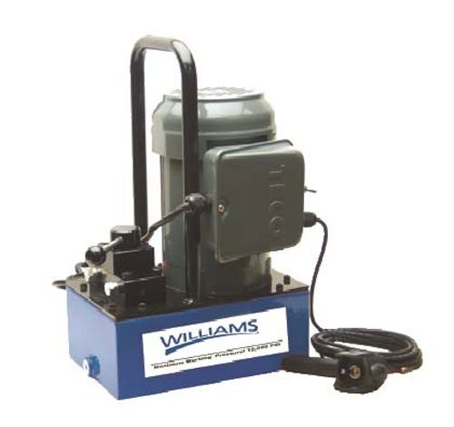 Williams Hydraulics 5E15H3Gr Electric Pump 1.5 Horse Power 3 Gallon With Pendant Switch