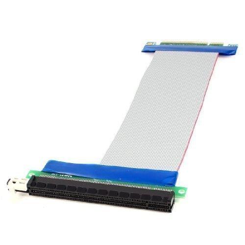 PCI-E 8 x 16 x fente carte Riser Câble ruban Flexible d'Extension