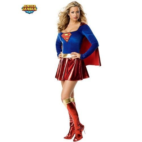 Women's Costume: Supergirl- Small