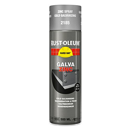 rust-oleum-2185-hard-hat-cold-galvanising-zinc-aerosol-metal-spray-paint-500ml