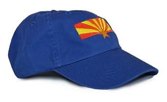 arizona state flag low profile baseball hat